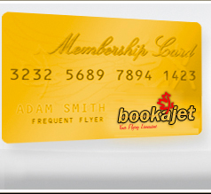 Bookajet Membership Cards
